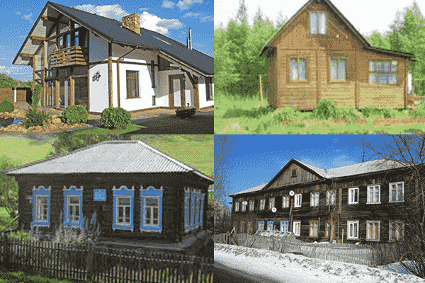 Виды домов и особенности приватизации